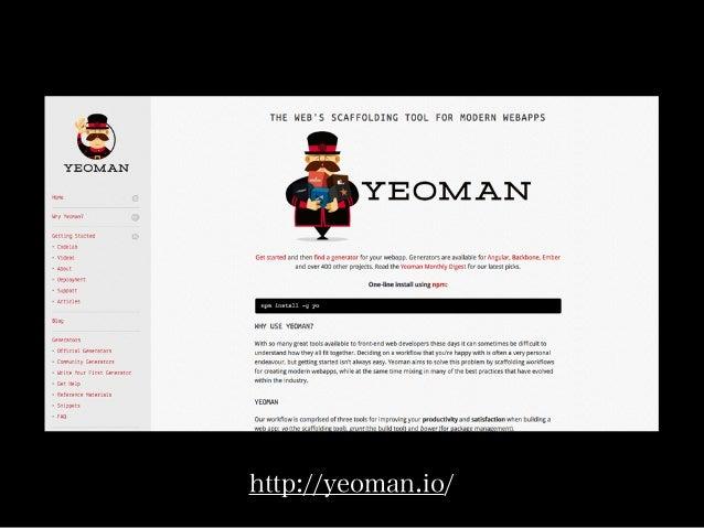 http://yeoman.io/