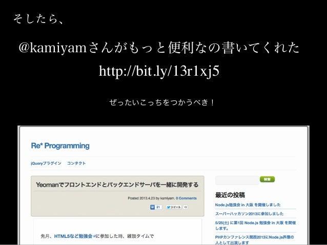 こうが、、、 Web Browser Yoman Preview Server (localhost:9000) API Server (localhost:3000) ✘ajax request