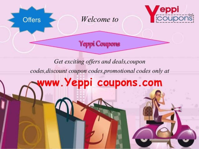 find discount coupons and offers, Powerpoint