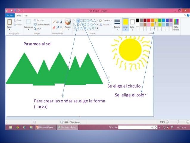 Como Crear Un Paisaje Con Figuras Geometricas En Paint