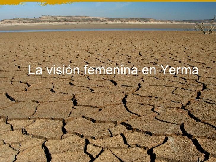 La visión femenina en Yerma
