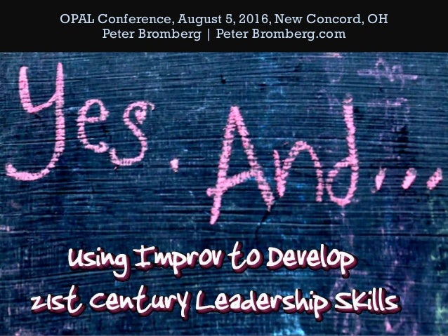 OPAL Conference, August 5, 2016, New Concord, OH Peter Bromberg | Peter Bromberg.com