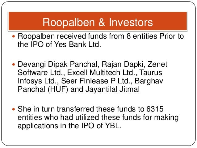 How to buy ipo in yes bank