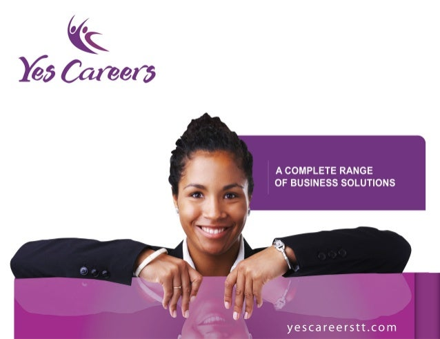 Yes careers brouchure (2013)