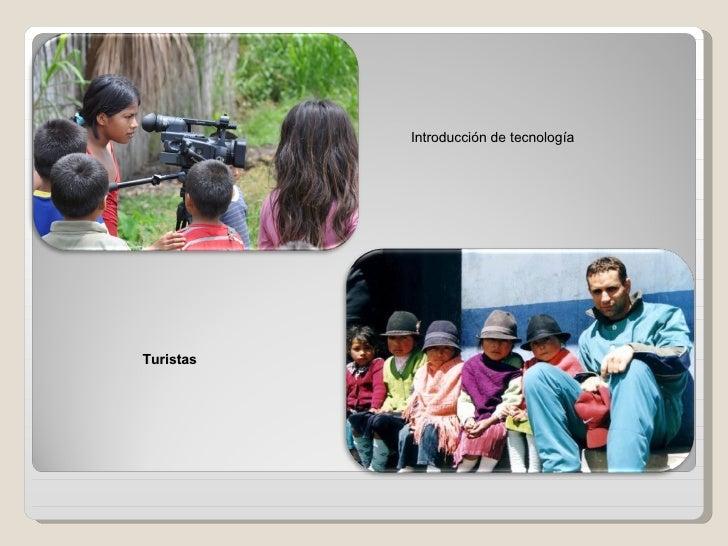 Problemas de perdida de identidad en Ecuador Slide 3