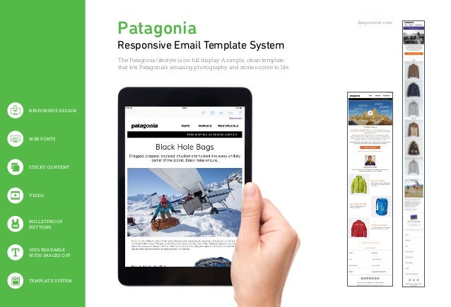 100% READABLE WITH IMAGES OFF BULLETPROOF BUTTONS VIDEO STICKY CONTENT WEB FONTSABC TEMPLATE SYSTEM Patagonia Responsive E...