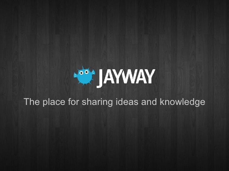 The place for sharing ideas and knowledge