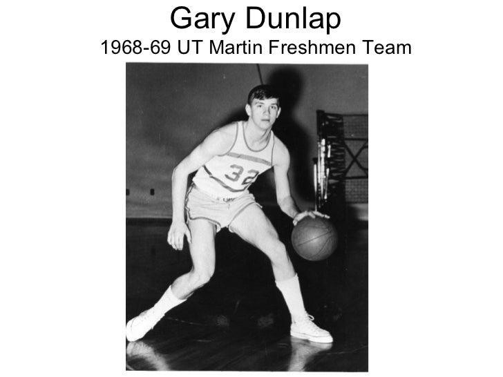 Gary Dunlap 1968-69 UT Martin Freshmen Team