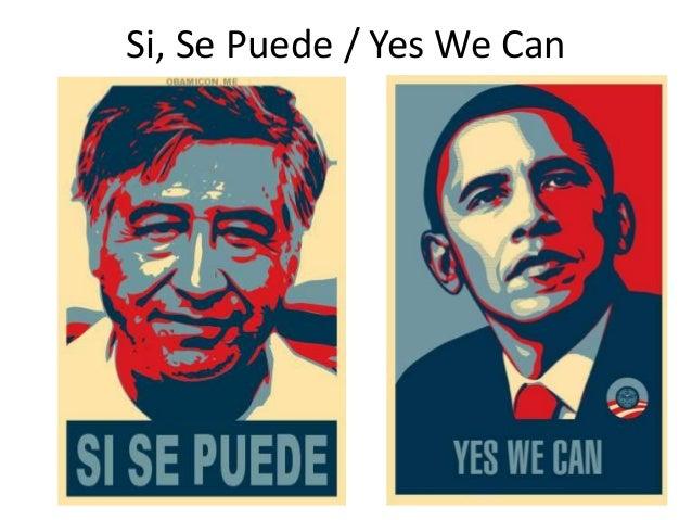Yes We Can Cesar Chavez And Barack Obama Digital Portrait