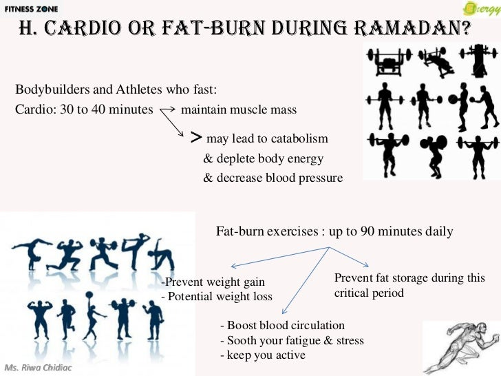How To Lose Fat And Gain Muscle During Ramadan