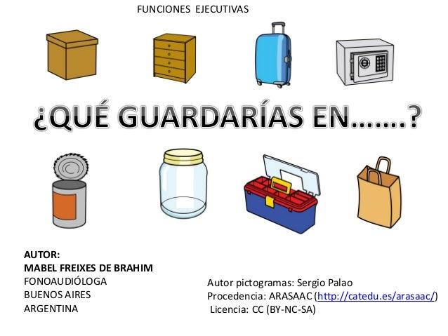 AUTOR: MABEL FREIXES DE BRAHIM FONOAUDIÓLOGA BUENOS AIRES ARGENTINA Autor pictogramas: Sergio Palao Procedencia: ARASAAC (...