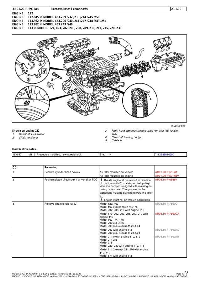 mercedes benz w208 clk 320 wis contents rh slideshare net 2000 Mercedes CLK 320 2004 Mercedes CLK 320