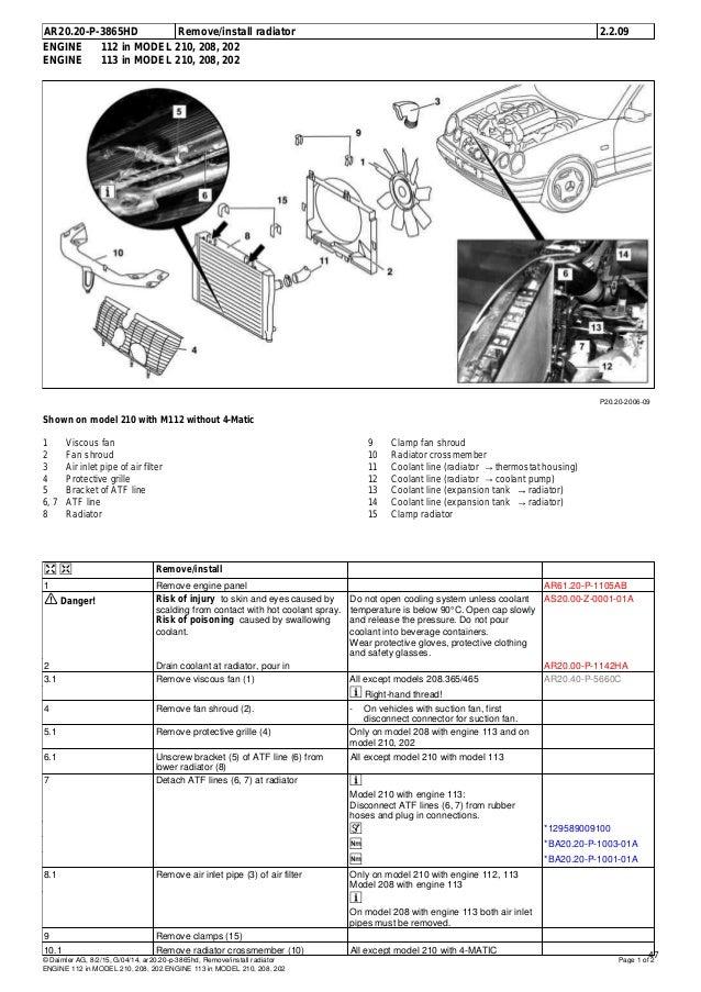 mercedes benz w208 clk 320 wis contents rh slideshare net 2004 Mercedes CLK 320 2004 Mercedes CLK 320