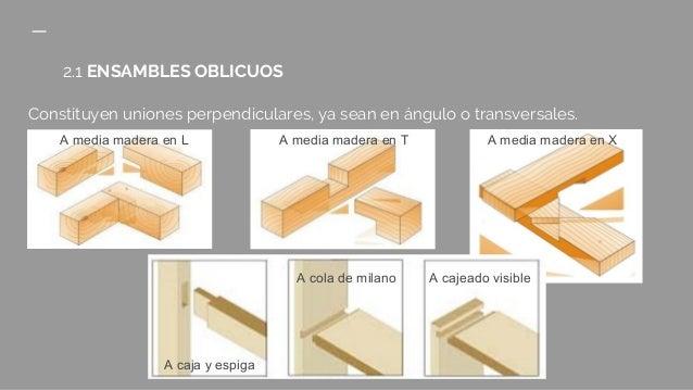 La madera tipos de uniones - Tipos de barnices para madera ...