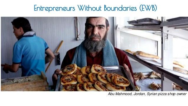Abu Mahmood, Jordan, Syrian pizza shop owner Entrepreneurs Without Boundaries (EWB)