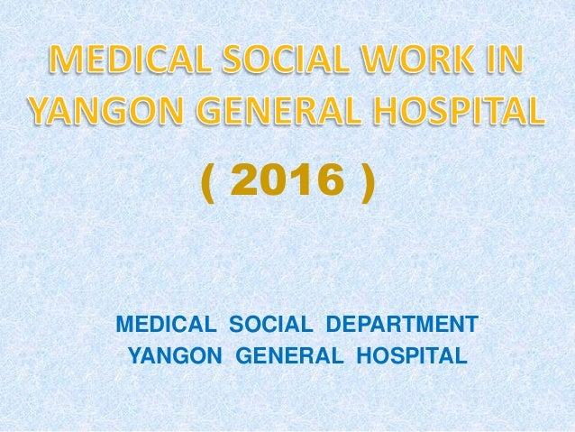 medical social work in YGH