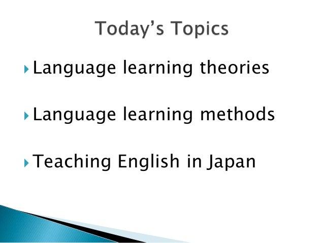 Teaching and learning english as an international language