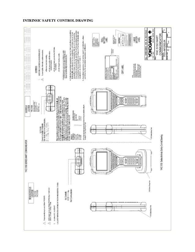 Yokogawa YHC5150X Fieldmate Handheld Communicator User's
