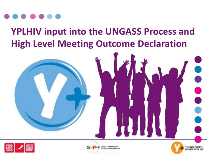 YPLHIV input into the UNGASS Process and High Level Meeting Outcome Declaration<br />