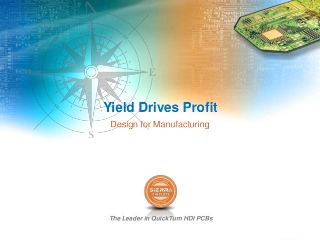 The Leader in QuickTurn HDI PCBs Yield Drives Profit Design for Manufacturing