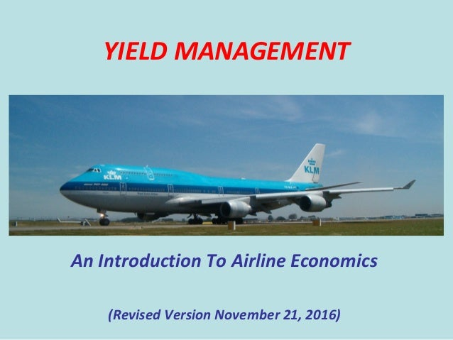 Yield Management at American Airlines