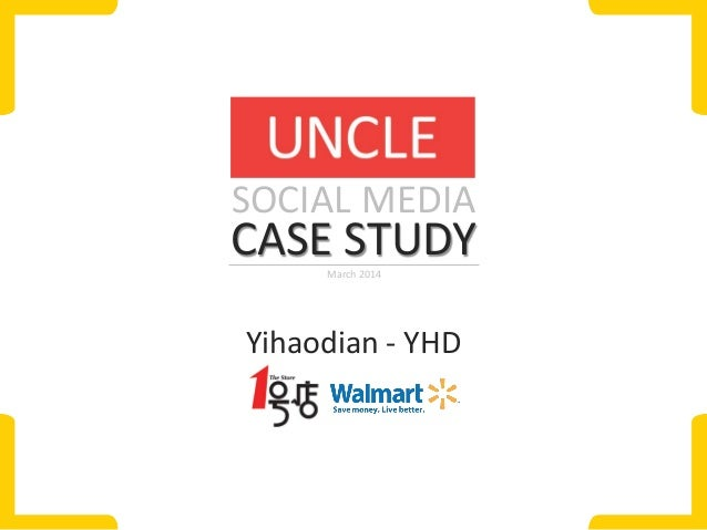 case study on walmart Wal-mart: our fastest growing business line is delivering experiences [case  study]  problems and become more competitive case studies.