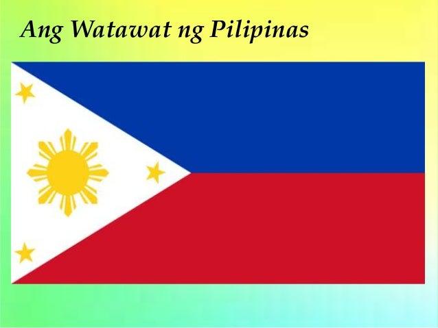 dating watawat ng pilipinas Hun 2017 samantala, ngayon ding araw ng kalayaan, naglagay ang mga military at civilian divers ng watawat ng pilipinas sa philippine rise na dating.