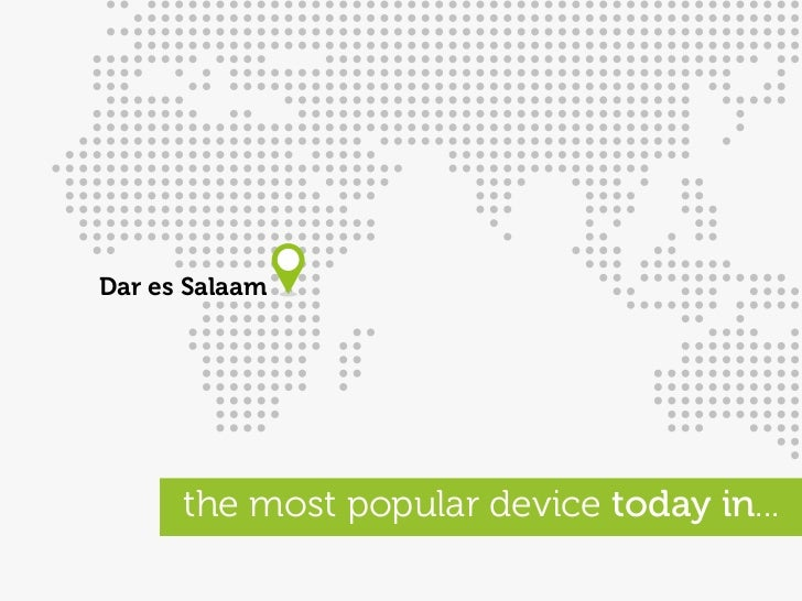 Dar es Salaam           the most popular device today in...