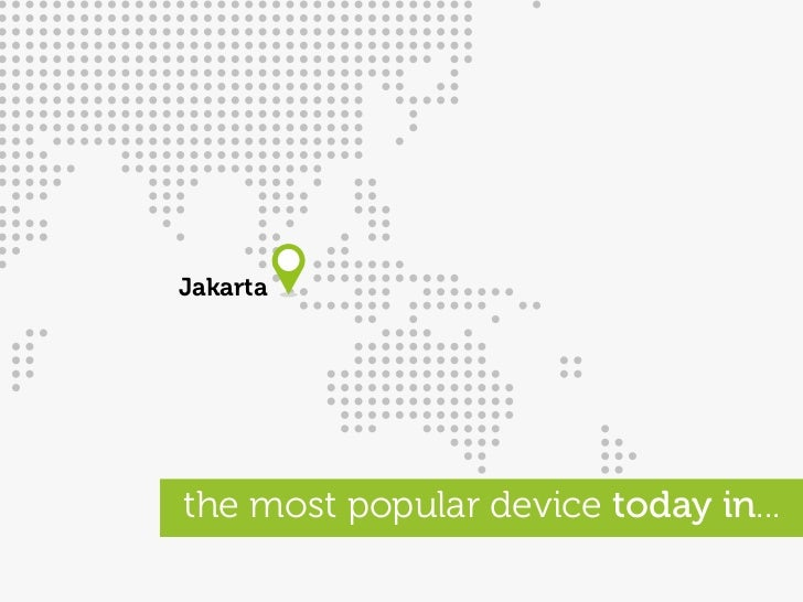 Jakarta     the most popular device today in...