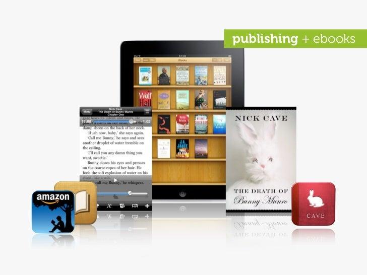 publishing + ebooks