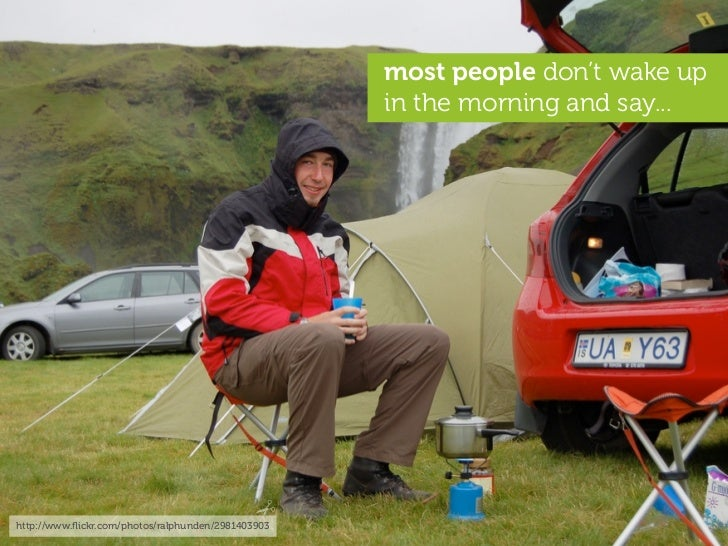 most people don't wake up                                                     in the morning and say...     http://www.flic...