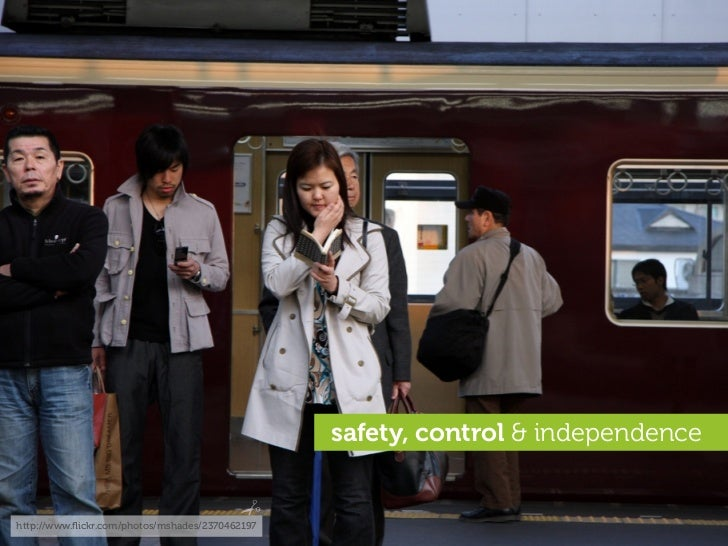 safety, control & independence   http://www.flickr.com/photos/mshades/2370462197