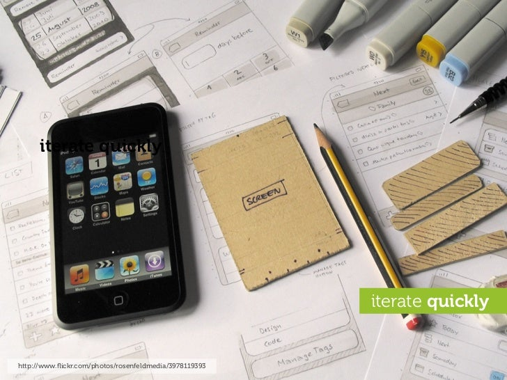 iterate quickly                                                             iterate quickly   http://www.flickr.com/photos/...