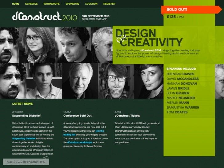 http://2010.dconstruct.org/