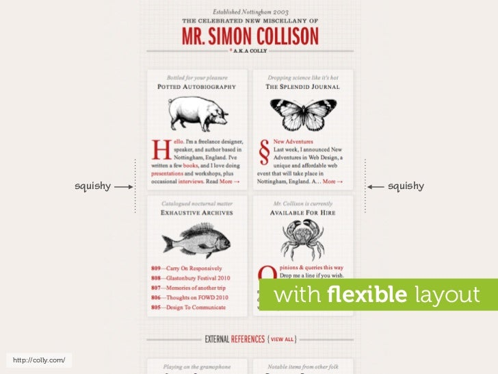 squishy             squishy                                   with flexible layout  http://colly.com/