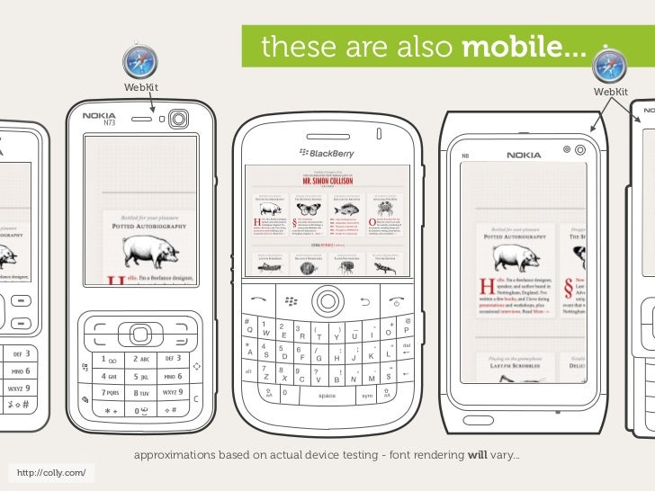 these are also mobile...                     WebKit                                                                       ...