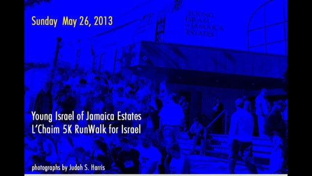 Young Israel of Jamaica Estates 5K RunWalk for Israel 2013