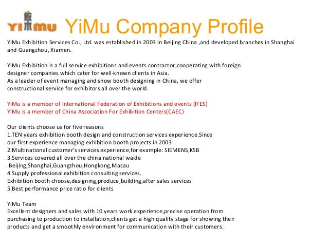 Exhibition Stand Builders Association : Yimu exhibition stand builder china contractor