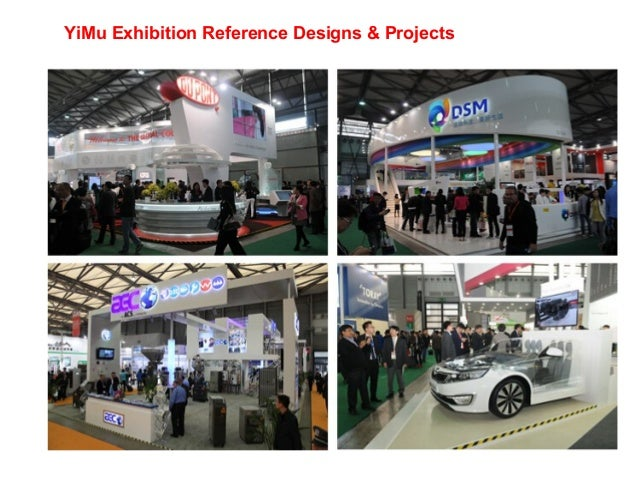 Exhibition Stand Design China : Yimu exhibition stand china contractor even stage design&builder