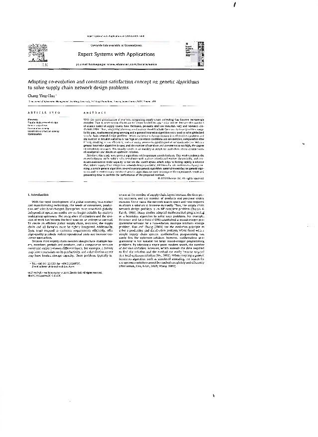 Expt'n Systems WJth Applic,UIOns 37 {2010) 6919-6930  Contents lists available at ScienceOirect  Expert Systems with Appli...