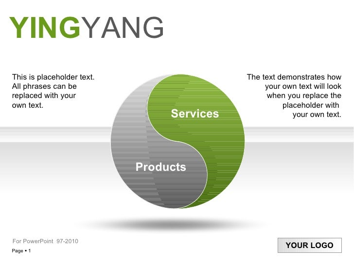 Yingyang this is placeholder text all phrases can be replaced with your own text toneelgroepblik Gallery