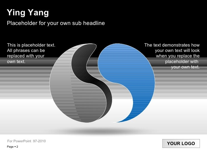 Yingyang services products ying yang for powerpoint 97 20 10 2 toneelgroepblik Image collections