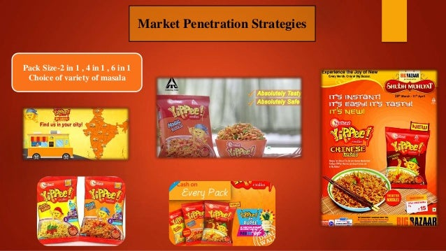 swot analysis of maggie noodles Repositioning awareness maggi vegitable atta noodles 23% maggi masala (regular) 53% maggi dal atta noodles 14% maggi mania 7% other 3% swot analysis of maggi brandthe swot analysis of maggi brand clearly indicates the strengthsof maggi as a brand inindian market.