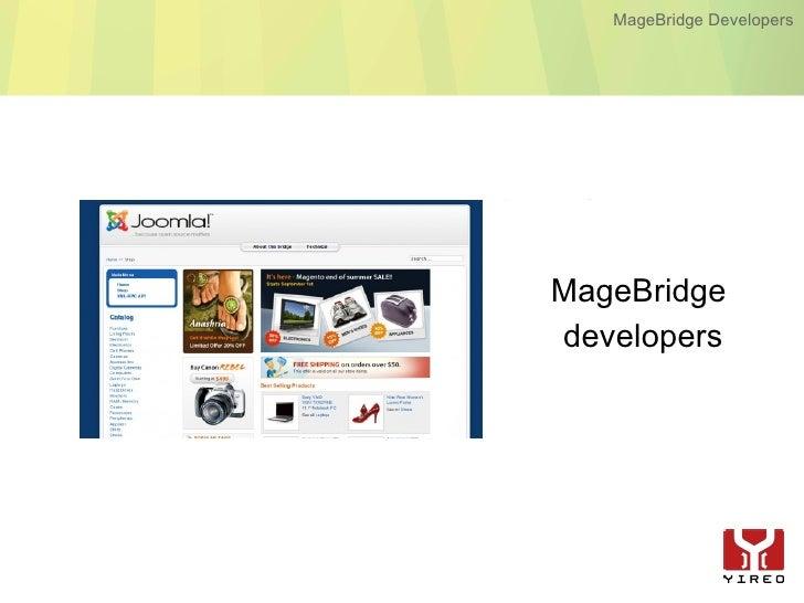 MageBridge Developers     MageBridge developers