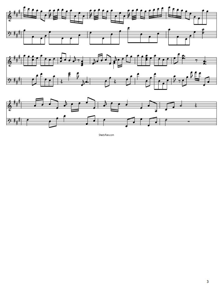 All Music Chords a river flows in you sheet music : Yiruma - River flows in you piano sheet music