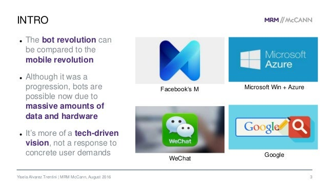 Chatbots, Personal Assistants and the Future of Artificial Intelligence Slide 3