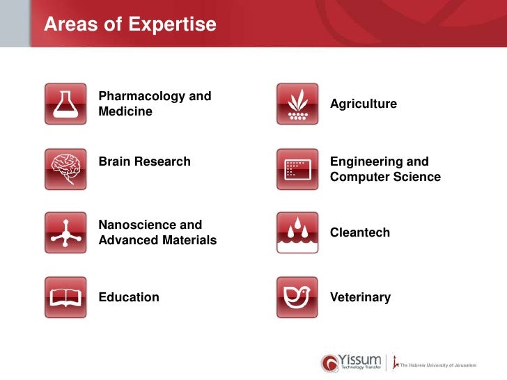 Areas of Expertise     Pharmacology and                          Agriculture     Medicine     Brain Research       Enginee...