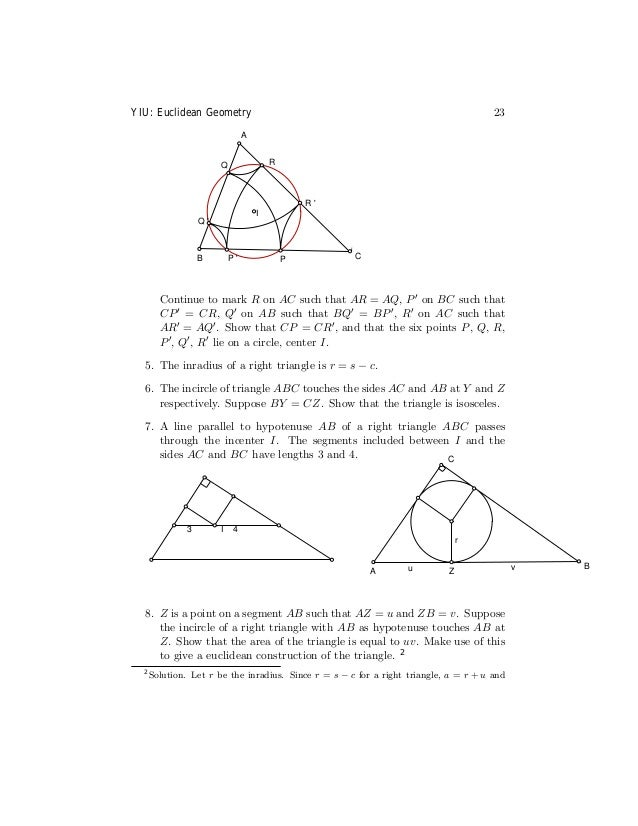Yiu -notes_on_euclidean_geometry_(1998)