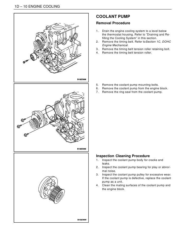 daewoo leganza cooling system diagram