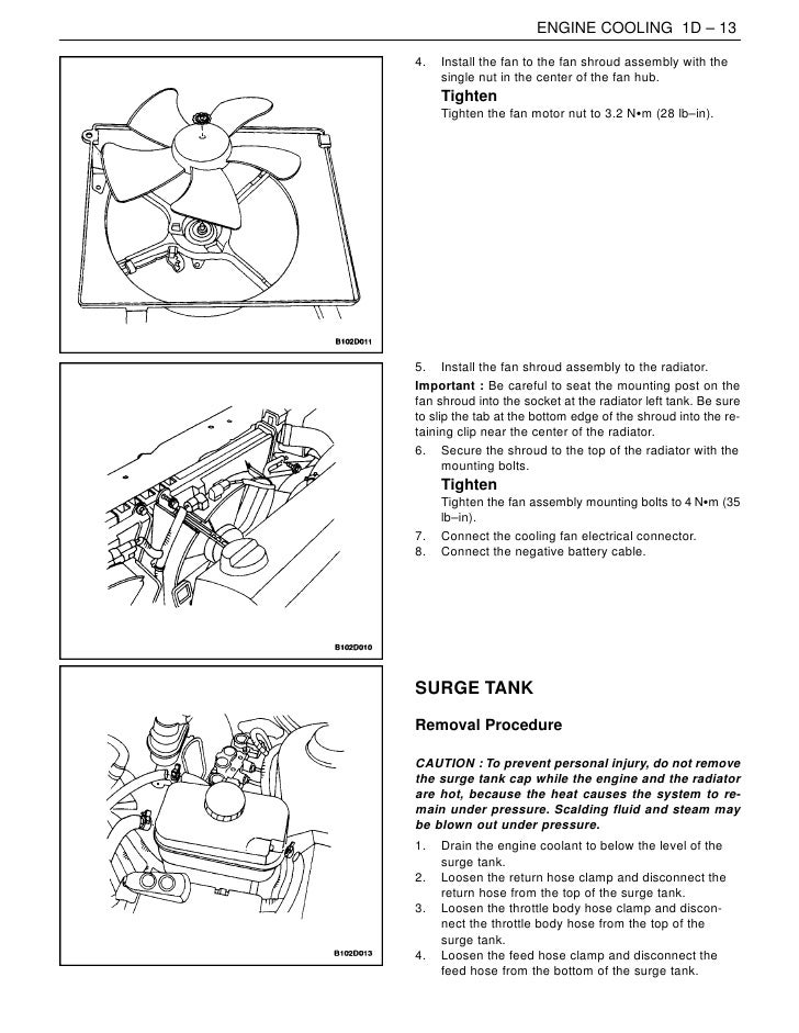 00 nubira dohc rh slideshare net Car Engine Cooling System Diagram Small Block Chevy Cooling Diagram